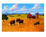 Colorado Farm In Late Summer - Patty Baker