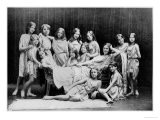 Isadora Duncan and Her Pupils from the Grunewald School, 1908 - Paul Berger