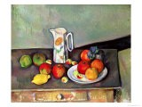 Nature morte - Pot à lait et fruits, vers 1886-90 - Paul Cézanne