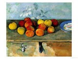 Still Life of Apples and Biscuits, 1880-82 - Paul Cézanne