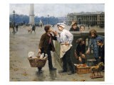 The Little Traders, 1900 - Paul Charles Chocarne-moreau