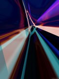 Abstract Color Streaks - Paul Cooklin