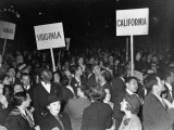 A View Showing the Large Crowd Attending the National Communist Party Convention - Paul Dorsey
