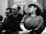 Writer Dorothy Parker Sitting Next to Edwin Justice Mayer - Paul Dorsey