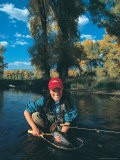 Woman Fly Fishing in CO - Paul Gallaher