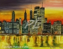 Peintures - City of light-New-York
