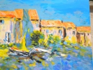 Peintures - Summer Time in Barcares 100 F 162 x 130 cm