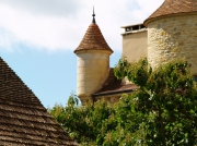 photo architecture : chateau de Parisot