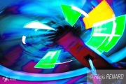photo autres lumieres couleurs light painting imaginaire : Dessous interdits
