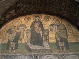 Mosaics in the Hagia Sophia, Originally a Church, Then a Mosque, Istanbul, Turkey - R H Productions