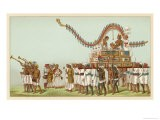 Wedding Procession for Persons of Rank - Racinet