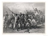 Haiti: French and Patriots in Hand-To-Hand Combat - Raffet