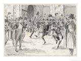 Stockbrokers Dance for Joy at News of the Boers' Surrender in the War in Africa - Ralph Cleaver