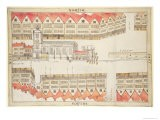 Map of Cheapside, London, 1585 - Ralph Treswell