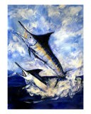 2 Marlin A Blue And A Striper - Randy Sprout