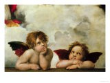 The Two Angels - Raphael