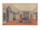 Salon for an Embassy Designed by Rapin for the International Decorative Arts Exhibition in Paris - Rapin