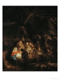 Adoration of the Shepherds, 1646 - Rembrandt van Rijn