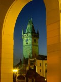 Old Town Hall Clock Tower in Old Town Square, Prague, Czech Republic - Richard Nebesky