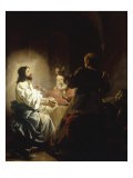 The Supper at Emmaus - Salomon de Bray