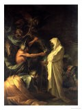 The Spirit of Samuel Appearing to Saul at the House of the Witch of Endor, 1668 - Salvator Rosa