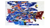 Round the World - Action Painting, 1958/1959 - Sam Francis