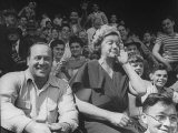 Audiences Watching a Baseball Game Between the Cubs and Dodgers - Sam Shere