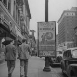 Sign Advertising Penicillin as Treatment For Gonorrhea - Sam Shere