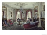 Interior of a Drawing Room in a Town House - Samuel A. Rayner