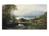 At the Head of the Loch, 1863 - Samuel Bough