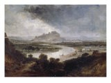 Stirling Castle from the River Forth, 1857 - Samuel Bough