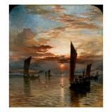 Sunset over the Forth, 1871 - Samuel Bough