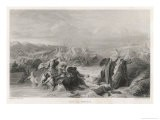2nd Crusade Louis VII Forces the Passage of the Meander - Samuel Cholet