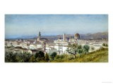 View of Florence, 1874 - Samuel Colman