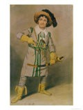 "George Smith (1777-1836) as Schampt in ""The Woodman's Hut"" by W.H. Arnold at the Drury Lane Theatre - Samuel de Wilde"