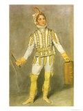 "John Pritt Harley (1786-1858) as Pedrillo in ""The Castle of Andalusia"" by John O""Keeffe - Samuel de Wilde"