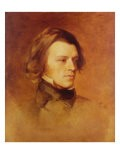 Portrait of Alfred Lord Tennyson - Samuel Laurence