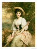 Mrs. Stuart M. Samuel as Phyllida, the Shepherdess - Samuel Luke Fildes