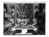 Prospect of the Inside of the Collegiate Church of St. Peter in Westminster - Samuel Moore