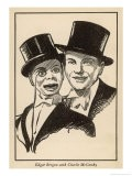 Edgar Bergen and Charlie Mccarthy His Ventriloquist's Dummy - Samuel Nisenson