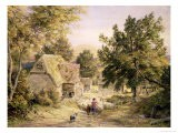 A Farmyard Near Princes Risborough, 1845/6 - Samuel Palmer