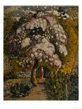 Apple Tree in Blossom In a Shoreham Garden, c.1830 - Samuel Palmer