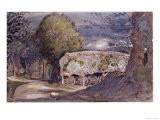 Barn at Shoreham - Samuel Palmer