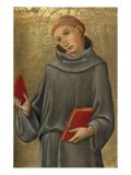 Saint Anthony of Padua - Sano di Pietro