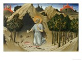 Saint Jerome in the Wilderness - Sano di Pietro
