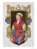"""Portrait of Anne Boleyn 2nd Queen of Henry VIII from """"Memoirs of the Court of Queen Elizabeth"""" - Sarah Countess Of Essex"""