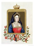 Portrait of Catherine of Aragon 1st Queen of Henry VIII - Sarah Countess Of Essex