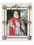 Portrait of Charles Howard 2nd Baron of Effingham and 1st Earl of Nottingham - Sarah Countess Of Essex