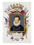 Portrait of Charles IX of France - Sarah Countess Of Essex