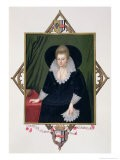 Portrait of Frances Walsingham - Sarah Countess Of Essex